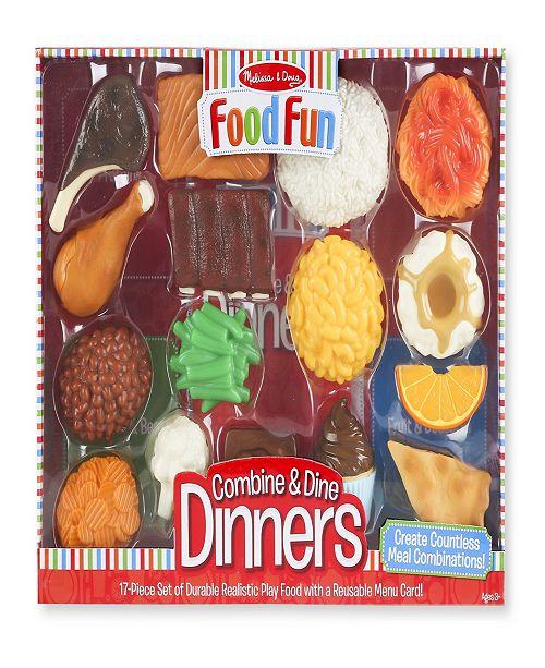 Melissa and Doug Melissa & Doug Food Fun Combine & Dine Dinners - Red