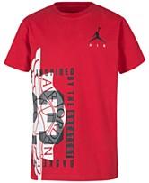 b32b928a83fa Jordan Big Boys Graphic-Print T-Shirt
