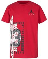 41c39850b93160 Jordan Big Boys Graphic-Print T-Shirt