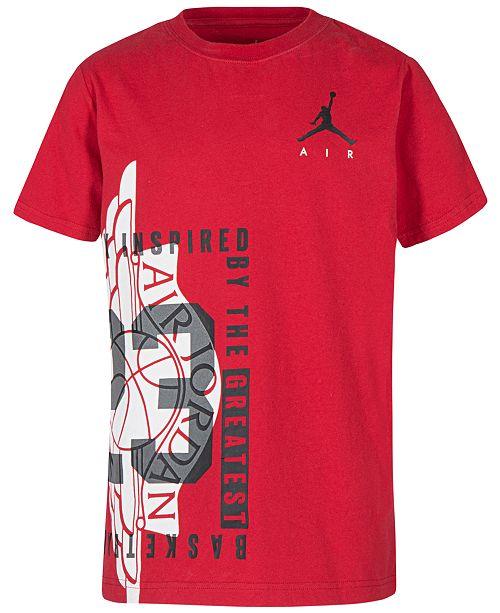 5a0123bdc8e Jordan Little Boys Graphic-Print T-Shirt - Shirts   Tees - Kids - Macy s