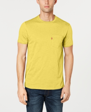 Levi's T-shirts MEN'S HEATHERED POCKET T-SHIRT