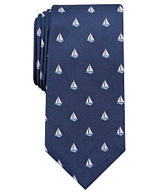 Club Room Men's Sailboat Neat Tie, Created for Macy's