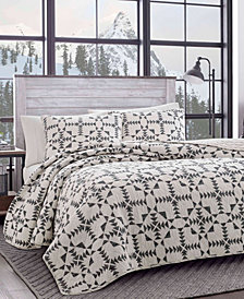 Eddie Bauer Arrowhead Charcoal Quilt Set, Twin