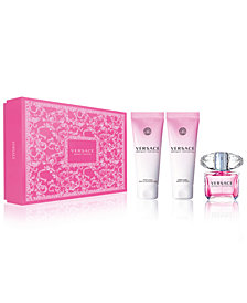 Versace 3-Pc. Bright Crystal Gift Set, a Value of $161