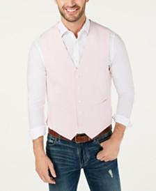 Tommy Hilfiger Men's Modern-Fit Chambray Vest