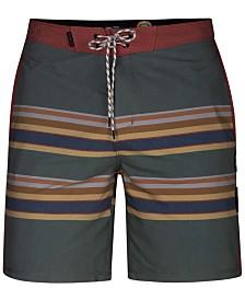 """Hurley Men's Pendleton Badlands Striped 18"""" Board Shorts"""