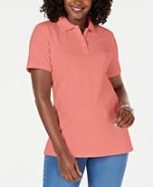 c249db4ba Polo Shirts For Women: Shop Polo Shirts For Women - Macy's