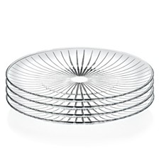 "Lorren Home Trends Sunbeam 10"" Dinner Plates - Set of 4"