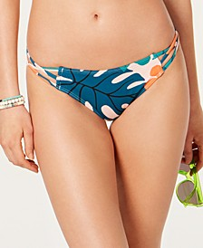 Tropicali Printed Strappy Bikini Bottoms, Created For Macy's