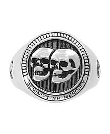 EFFY® Men's Zodiac Ring in Sterling Silver
