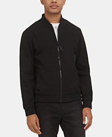 Men's Mesh Bomber Jacket