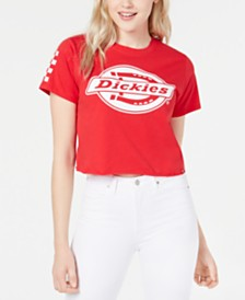 Dickies Cotton Cropped Graphic T-Shirt