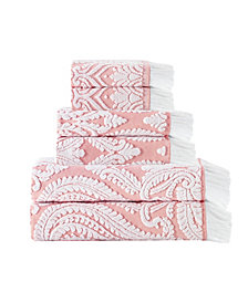 Enchante Home Laina 6-Pc. Turkish Cotton Towel Set