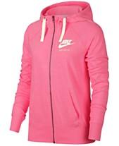 293b0bda1 Pink Nike Hoodies: Shop Nike Hoodies - Macy's