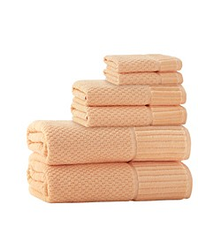 Timaru 6-Pc. Turkish Cotton Towel Set