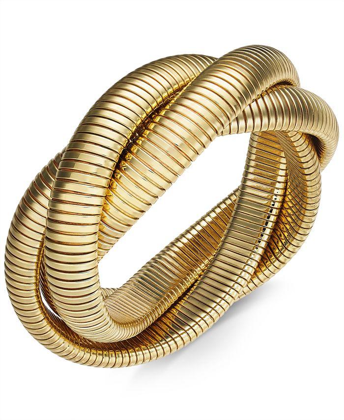 Thalia Sodi - Twisted Herringbone Stretch Bracelet