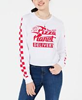 Love Tribe Juniors  Pizza Planet Graphic T-Shirt 0de458669