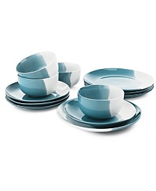 The Cellar Color 12-Pc. Dinnerware Set, Service for 4, Created for Macy's