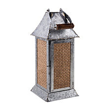 Home Essentials Small Galvanized Lantern