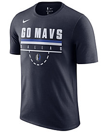 Nike Men's Dallas Mavericks Team Verbiage T-Shirt