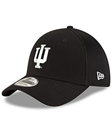 Indiana Hoosiers Black White Neo 39THIRTY Cap