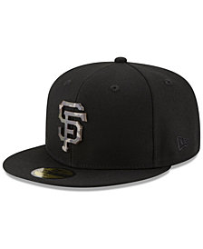 New Era San Francisco Giants Camo Capped 59FIFTY-FITTED Cap