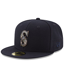 New Era Seattle Mariners Camo Capped 59FIFTY-FITTED Cap