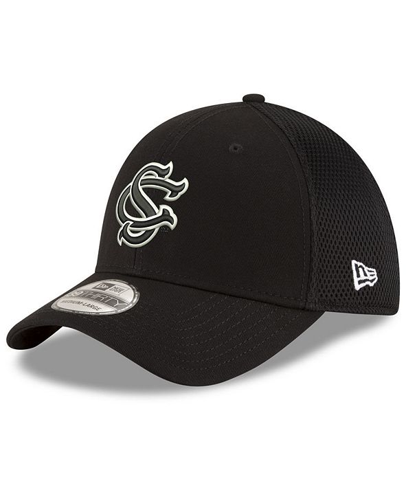 New Era South Carolina Gamecocks Black White Neo 39THIRTY Cap