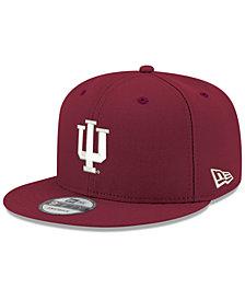New Era Boys' Indiana Hoosiers Core 9FIFTY Snapback Cap
