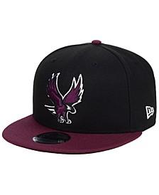 North Carolina Central University Eagles Black Team Color 9FIFTY Snapback Cap