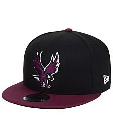 New Era North Carolina Central University Eagles Black Team Color 9FIFTY Snapback Cap