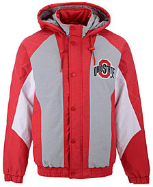 G-III Sports Men's Ohio State Buckeyes Nylon Full-Zip Jacket