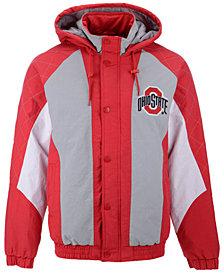 G-III Sports Men's Ohio State Buckeyes Nylon Full-Zip Jacket