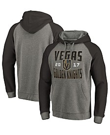Majestic Men's Vegas Golden Knights Antique Tri-Blend Hoodie