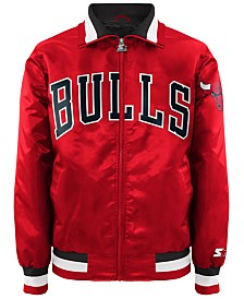 G-III Sports Men's Chicago Bulls Starter Captain II Satin Jacket