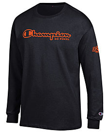 Champion Men's Oklahoma State Cowboys Co-Branded Long Sleeve T-Shirt