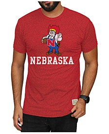 Men's Nebraska Cornhuskers Mock Twist Vault Logo T-Shirt