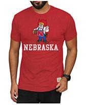 36040e2bd81 Retro Brand Men s Nebraska Cornhuskers Mock Twist Vault Logo T-Shirt