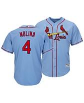 41b250e4f Majestic Men s Yadier Molina St. Louis Cardinals Player Replica Cool Base  Jersey