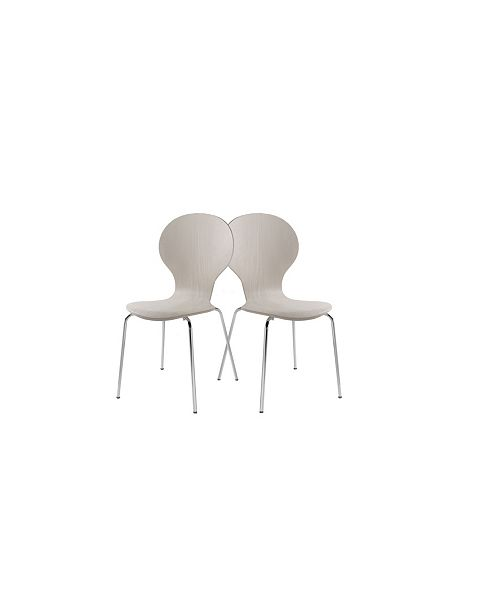 New Spec Inc Capetown Dining Chair Set of 4 Pieces