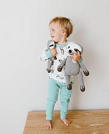 100% Organic Sloth Big Buddy Knit Doll
