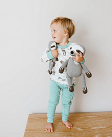 finn + emma 100% Organic Sloth Big Buddy Knit Doll