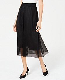Mesh Midi Skirt, Created for Macy's