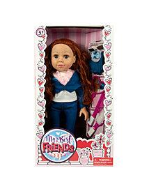 "18"" My Best Friend Auburn Doll Dressed in Denim"