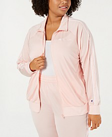 Plus Size Track Jacket