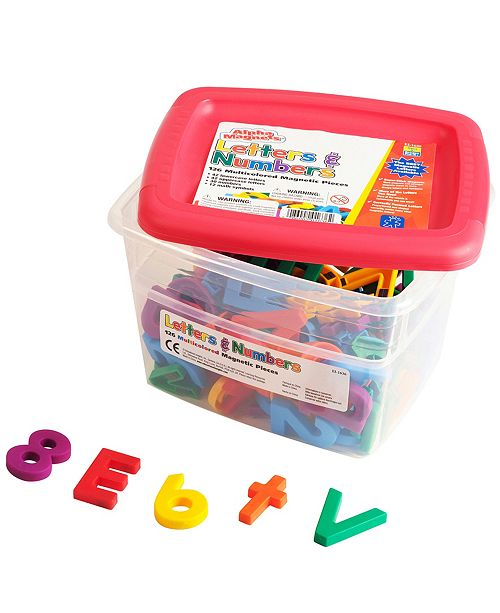 Learning Resources Educational Insights Multicolored Alphamagnets And Mathmagnets 126 Pieces