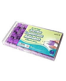 See and Stamp Jumbo Alphabet Stamps-Lowercase 20 Pieces