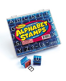 Learning Resources Uppercase Alphabet and Punctuation Stamps