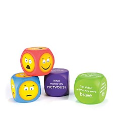Learning Resources Soft Foam Emoji Cubes Set of 4