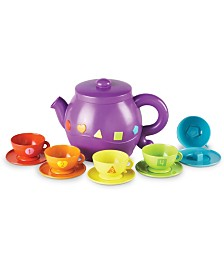Learning Resources Serving Shapes Tea Set 11 Pieces